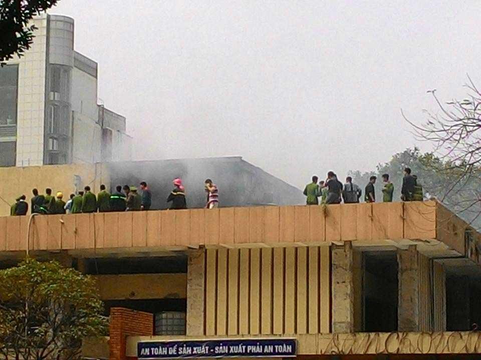 Cháy lớn tại Cung Thiếu nhi Hà Nội - 4
