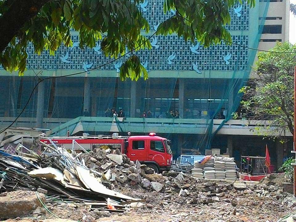 Cháy lớn tại Cung Thiếu nhi Hà Nội - 2