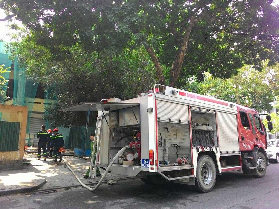 Cháy lớn tại Cung Thiếu nhi Hà Nội - 5