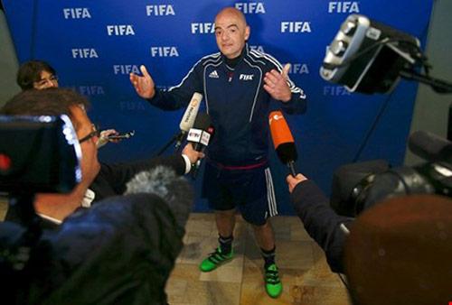 Tân chủ tịch FIFA săn tìm người tài - 1