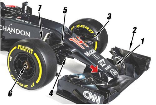 """F1, McLaren MP4-31: Sẵn sàng cho màn """"comeback"""" - 3"""