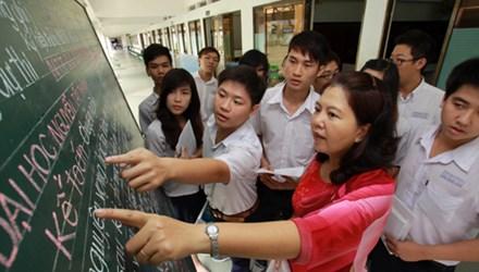 Nhiều học sinh chọn nghề theo cảm tính - 1