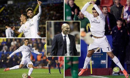 """Zidane khen nức nở sao trẻ, """"lờ tịt"""" Ronaldo - 1"""