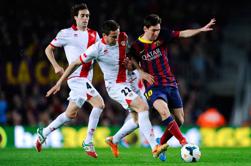 Rayo Vallecano - Barca: Nhấn ga qua kỷ lục - 2