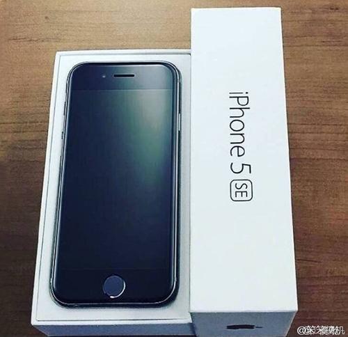 Ảnh iPhone 5SE trong hộp đựng là giả - 1