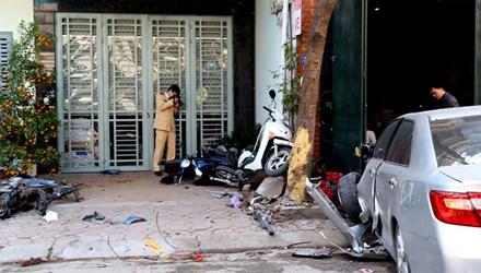 Báo động xe điên gây tai nạn: 'Chà đạp' lên luật pháp - 1