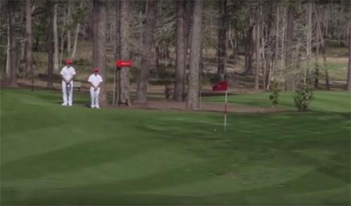 """Tiger Woods """"bái phục"""" golf thủ nhí đánh 1 gậy trúng lỗ - 3"""