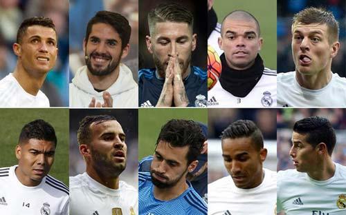 "Ronaldo dẫn đầu danh sách ""10 cừu đen"" của Perez - 1"