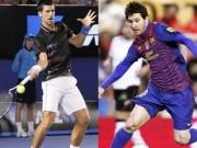 """Bóng đá - Messi quyết đấu Djokovic, Hamilton vì """"Oscar thể thao"""""""