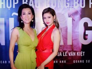 Phim - MC Kỳ Duyên đọ dáng sexy bên Trương Quỳnh Anh