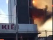 Video An ninh - Clip: Cháy liên hoàn khủng khiếp tại Gia Lai