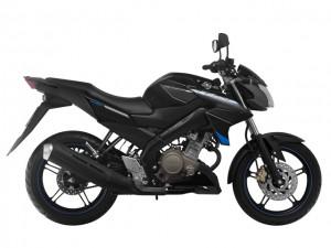 Ngắm chiếc naked bike FZ150i màu đen mới ra mắt