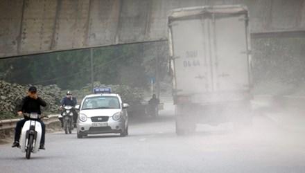 Ô nhiễm không khí ở Hà Nội lên mức nguy hại - 1