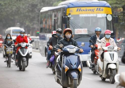 Ô nhiễm không khí ở Hà Nội lên mức nguy hại - 2