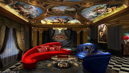 """Phòng khách sạn 2 tỉ đồng/đêm ở """"thánh địa cờ bạc"""" - 2"""