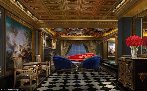 """Phòng khách sạn 2 tỉ đồng/đêm ở """"thánh địa cờ bạc"""" - 1"""