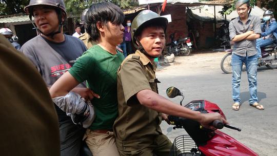 Nữ sinh viên quật ngã tên trộm xe máy ở làng Đại học - 3
