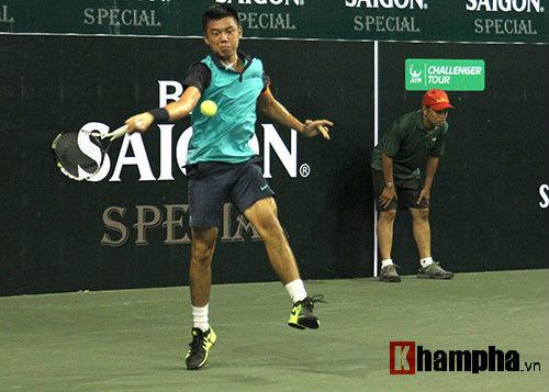 Davis Cup: Hoàng Nam tỏa sáng nuôi hy vọng cho ĐTVN - 1