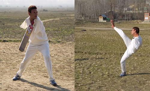 Cụt 2 tay, chơi cricket còn giỏi hơn vạn người - 1
