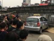 """Camera hành trình - HN: Lại thêm """"xe điên"""" đâm chết người ở đường Hồng Hà"""