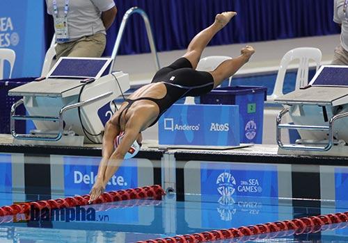 Giải bơi ở Mỹ: Ánh Viên gần chạm thêm chuẩn Olympic - 1