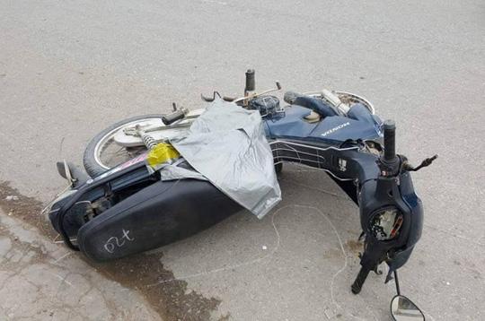 Xe biển xanh lấn làn tông chết bà bầu 8 tháng - 2