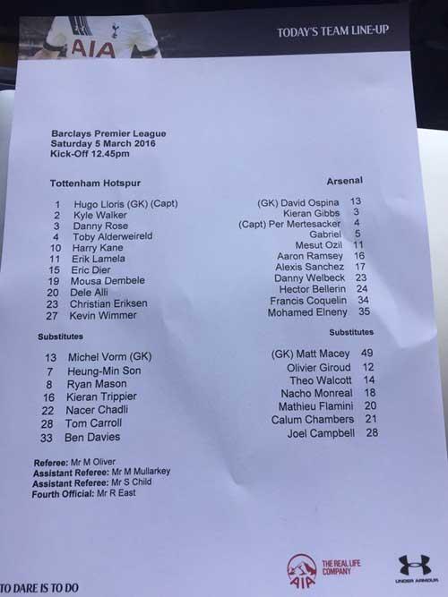 Chi tiết Tottenham - Arsenal: Người hùng Sanchez (KT) - 11