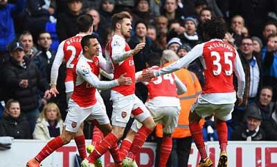 Tottenham - Arsenal: Siêu sao và siêu phẩm - 1