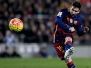 """Bóng đá Tây Ban Nha - Hiệu suất """"khủng"""" năm 2016, Messi lại lập kỷ lục"""