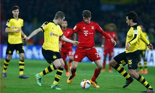 Dortmund - Bayern: Đôi công máu lửa - 1