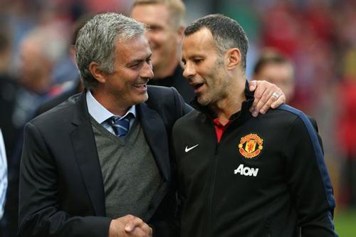 Đua ghế HLV MU: Mourinho sắp thua Giggs - 1