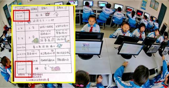 """Trung Quốc: """"Mẹ hổ"""" ép con 9 tuổi học 18 giờ/ngày - 1"""
