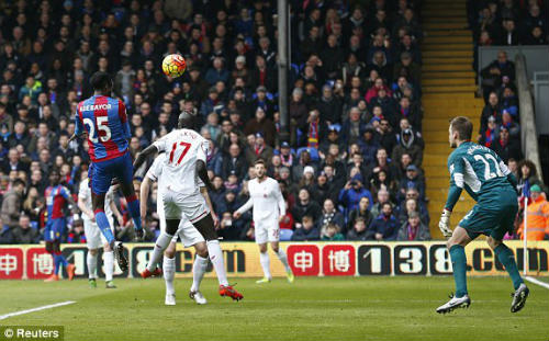 video crystal palace vs liverpool - 1