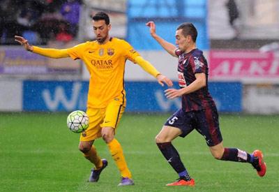 Chi tiết Eibar - Barca: Đến lượt Suarez lập công (KT) - 4