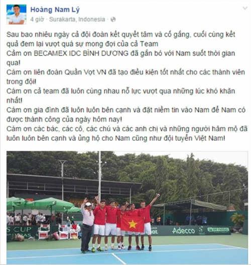 Tennis 24/7: Lộ bằng chứng Hoàng Nam hẹn hò Hoàng Yến - 1