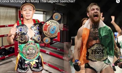 """Huyền thoại Muay Thái thách đấu """"Gã điên"""" UFC - 1"""