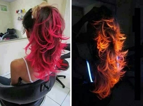 Rước họa vào... thân vì sính nhuộm tóc phát quang - 2