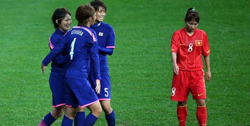 ĐT nữ Việt Nam – Nhật Bản: Một bàn danh dự - 1