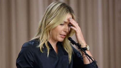 """SỐC: """"Búp bê"""" Sharapova dương tính với doping - 2"""