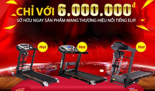 Thể Thao Tài Phát cung cấp cho bạn mẫu máy đi bộ chất lượng nhất.