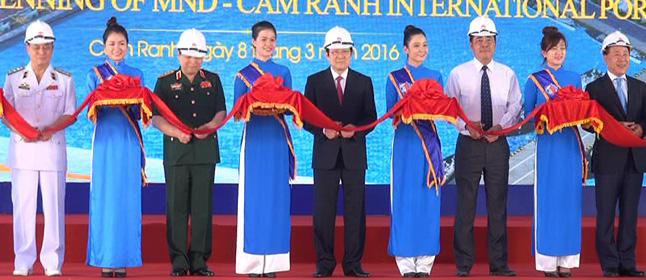 Khánh thành cảng biển quốc tế lớn nhất Việt Nam - 2