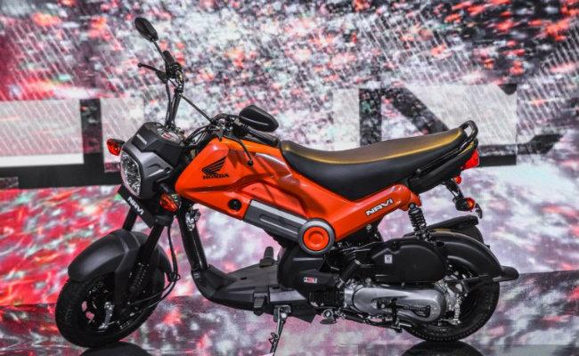 Honda Navi do cơ sở xe Honda tại Ấn Độ phát triển, trình diện trước công chúng lần đầu tại Auto Expo 2016.