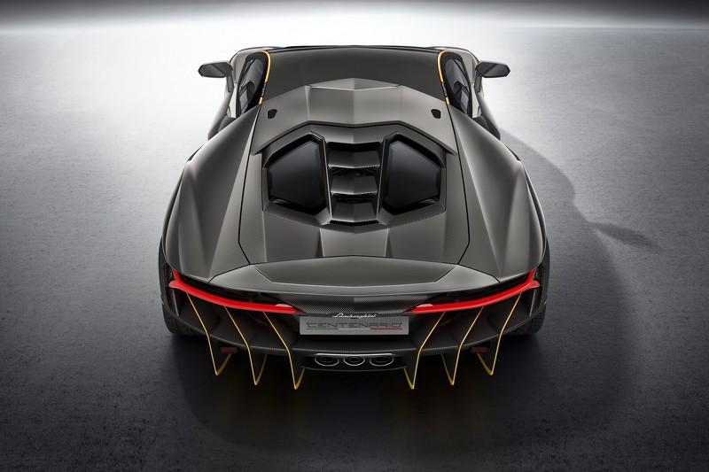 """Siêu phẩm Lamborghini Centenario ngoại hình """"dữ dằn"""", giá """"siêu khủng"""" - 3"""