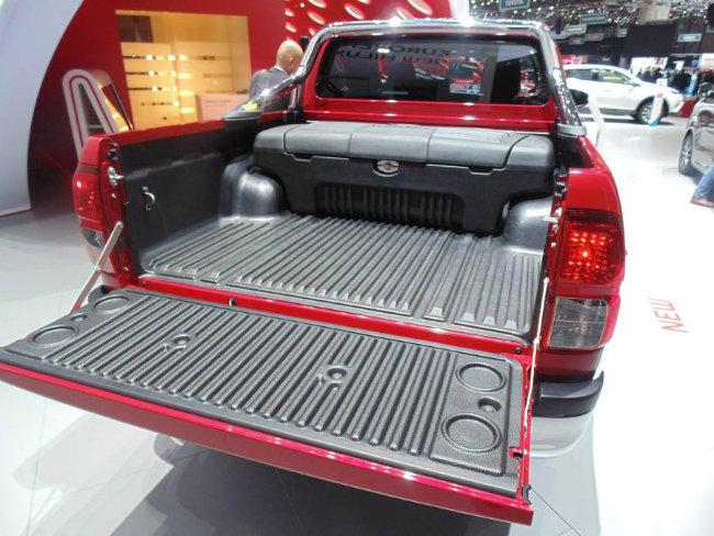 Mẫu bán tải Toyota HiLux.