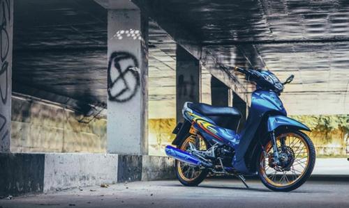 """Biker Việt bỏ tiền triệu để """"lên đời"""" Honda Wave - 1"""