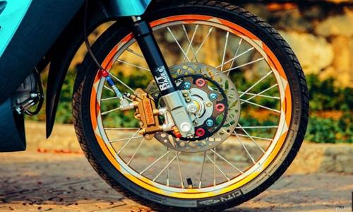"""Biker Việt bỏ tiền triệu để """"lên đời"""" Honda Wave - 4"""