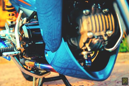 """Biker Việt bỏ tiền triệu để """"lên đời"""" Honda Wave - 6"""