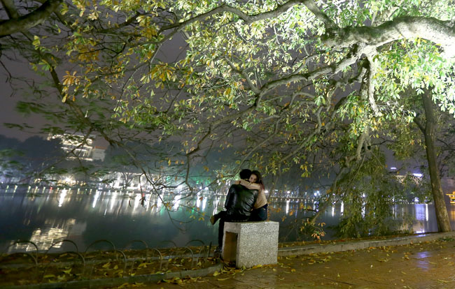 Hà Nội đẹp lãng mạn trong mưa bụi tháng Giêng - 11