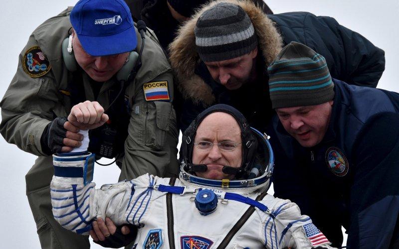 Cơ thể phi hành gia biến đổi sau 1 năm trên vũ trụ - 1