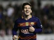 Bóng đá Tây Ban Nha - Chiếc giày vàng châu Âu: Messi quyết đua Ronaldo